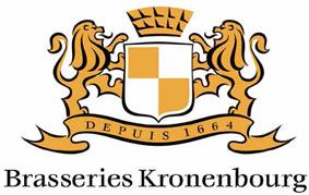 1664年創業フランスのビールメーカーkronenbourg
