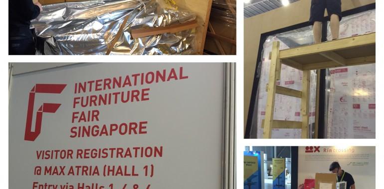 明日からシンガポール国際家具フェアが始まります