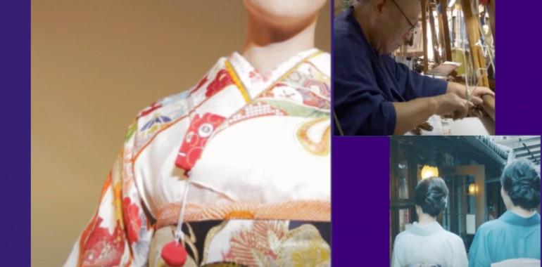 西陣織きものショーを始めとする動画公開のお知らせ