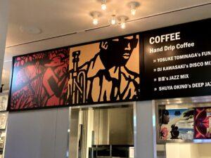 The Room COFFEE & BAR_壁面メニュー